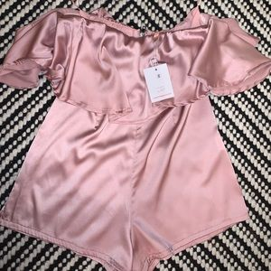 Other - Blush Pink Size Small Romper